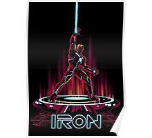 IRON-TRON Poster