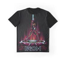 IRON-TRON Graphic T-Shirt