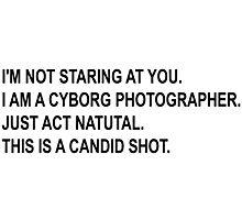 Cyborg Photographe - Rick and Morty Photographic Print