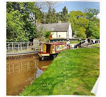 Brynich Lock, Monmouthshire & Brecon Canal Poster