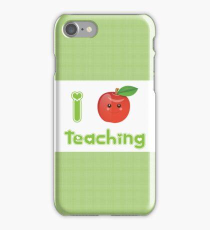 I Heart Teaching iPhone Case/Skin