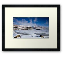 Winter at Embsay, Yorkshire Framed Print