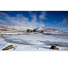 Winter at Embsay, Yorkshire Photographic Print