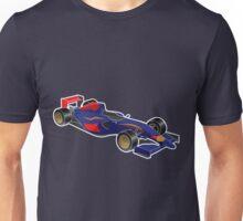 Burro Rosso Side View Formula Legend 2015 Unisex T-Shirt