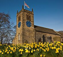 St. Peter's Church, Addingham, Yorkshire by Jim Round