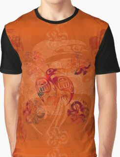 Crow Native Graphic T-Shirt