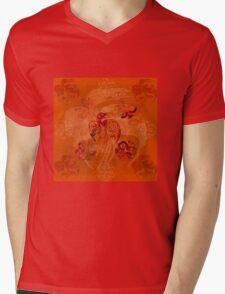 Crow Native Mens V-Neck T-Shirt