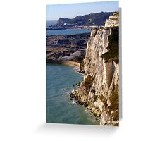 The White Cliffs and Dover Greeting Card