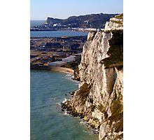 The White Cliffs and Dover Photographic Print