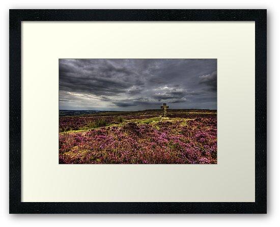 Cowper's Cross, Ilkley Moor, Yorkshire by Jim Round