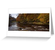 Stainforth Bridge, Yorkshire Dales Greeting Card