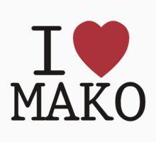 I <3 MAKO Kids Clothes