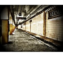 NYC Subway - Long Island City Photographic Print