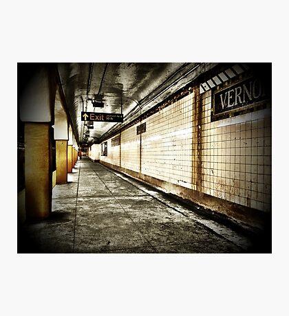 NYC Subway - Long Island City Photographic Print