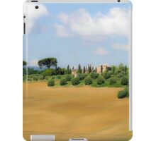 Rolling green hills with trees Photographed in Tuscany, Italy iPad Case/Skin