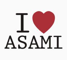 I <3 ASAMI Kids Clothes