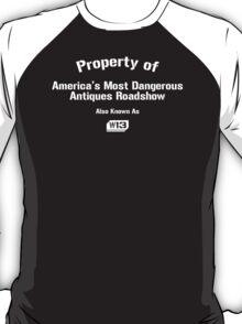 Property of W13 White Logo T-Shirt