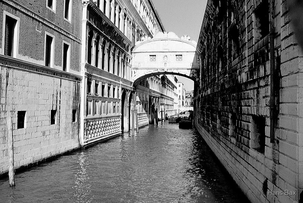 Ponte dei Sospiri by Hans Bax