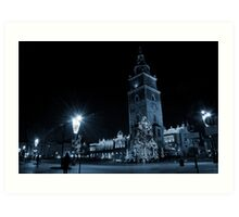 View of Main Market in Krakow Art Print