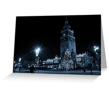 View of Main Market in Krakow Greeting Card