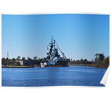 USSNC Battleship Poster
