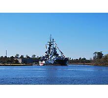 USSNC Battleship Photographic Print