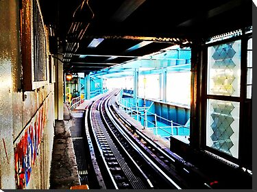 Queensboro Plaza Subway by ARPunk