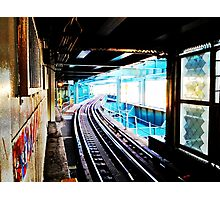 Queensboro Plaza Subway Photographic Print