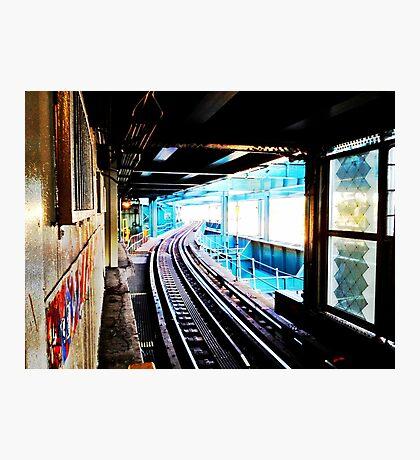 Queensboro Plaza Subway Photographic Print