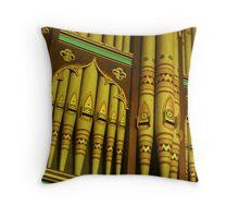 Church organ Throw Pillow