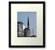Domes and Minaret Framed Print