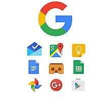 Google products Photographic Print