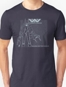 Powerloader Blueprint Unisex T-Shirt