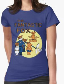 The Fantastic Fox Womens Fitted T-Shirt