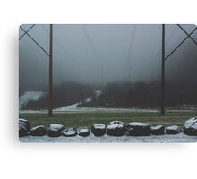 Sloper Mist Canvas Print