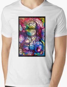 Space Ape Mens V-Neck T-Shirt