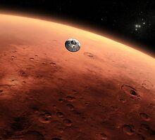 Mars Landing by TexasBarFight