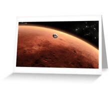 Mars Landing Greeting Card