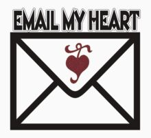 ¸¸.♥➷♥•*¨EMAIL MY HEART T-SHIRT ¸¸.♥➷♥•*¨ by ✿✿ Bonita ✿✿ ђєℓℓσ