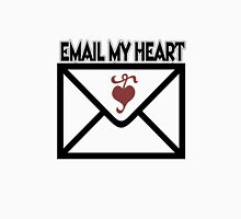 ¸¸.♥➷♥•*¨EMAIL MY HEART T-SHIRT ¸¸.♥➷♥•*¨ Womens Fitted T-Shirt
