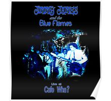 Jimmy James and the Blue Flames Jimi Hendrix Poster