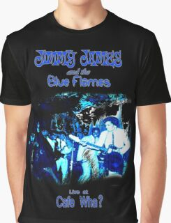 Jimmy James and the Blue Flames Jimi Hendrix Graphic T-Shirt