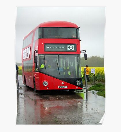 Bus RT1 Cobham bus rally Poster