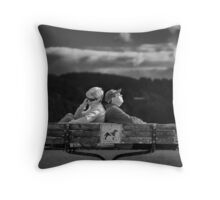 Supporting Partnership Throw Pillow