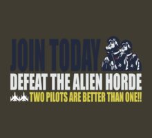 Two Pilots Are Better Than One  by Crocktees
