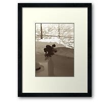 Joyous future Framed Print