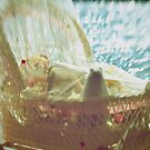 Bassinet with toys - vintage look by Suze Chalmers