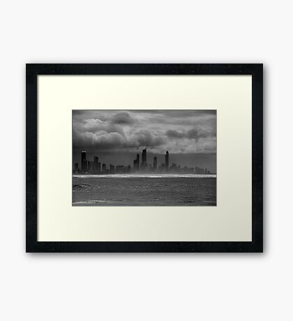 Sometimes It's Cloudy Framed Print