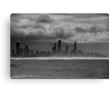 Sometimes It's Cloudy Canvas Print
