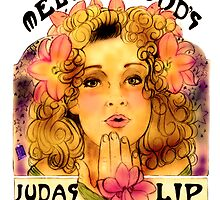 Melody Pond's Judas Tree Lipgloss by Monica Lara